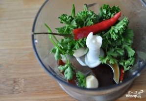 Салат из пекинской капустки с мясом - фото шаг 2