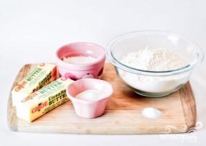 Масляное печенье с глазурью - фото шаг 1