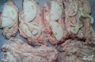 Свинина по-гусарски - фото шаг 2