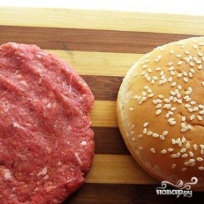 Котлета для гамбургера - фото шаг 2