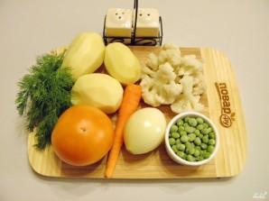 Овощной суп классический - фото шаг 1