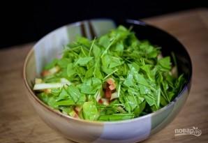 Салат с яблоками - фото шаг 4
