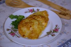 Картофельные котлеты с курицей - фото шаг 5