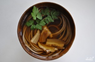 Грибной мисо суп - фото шаг 4