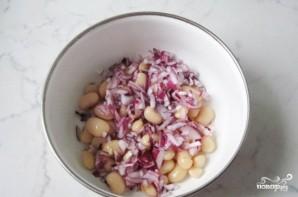 Салат из индейки с фасолью - фото шаг 2
