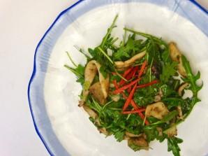 Салат с кальмарами и ананасом - фото шаг 4