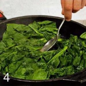Киш со шпинатом - фото шаг 4