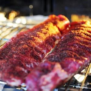 Жареные свиные ребрышки в духовке - фото шаг 5