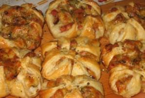 Хачапури с ветчиной и сыром - фото шаг 6