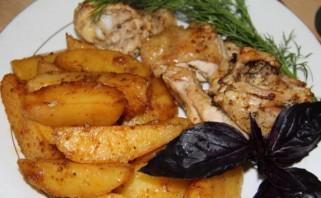 Запеченный картофель под соусом - фото шаг 5