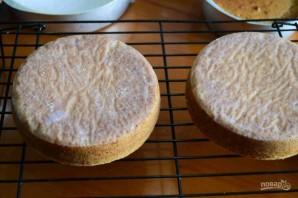 Простой рецепт коржа для торта - фото шаг 11