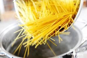 Кассероль из курицы, спагетти и грибов - фото шаг 3