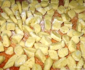 Суп с картофельными галушками - фото шаг 3