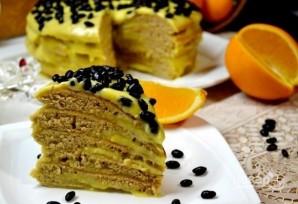 Простой и вкусный кефирный торт - фото шаг 8