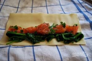 Рыбная запеканка со шпинатом - фото шаг 5