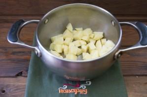 Рыбный суп-пюре со сливками - фото шаг 2