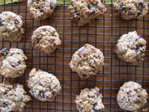Овсяное печенье с сухофруктами и орехами - фото шаг 2