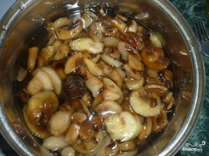 Солянка с грибами на зиму - фото шаг 1