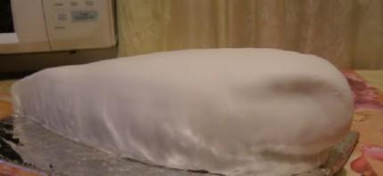 "Торт ""Акула"" - фото шаг 8"