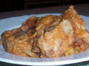Жаркое из ребрышек с картошкой - фото шаг 5