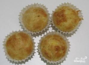 Сырные капкейки - фото шаг 6