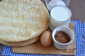 Шоколадный торт с вишней - фото шаг 1