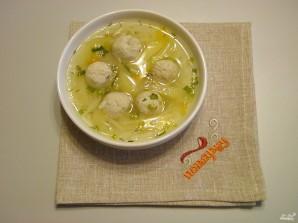 Суп с куриными фрикадельками - фото шаг 15
