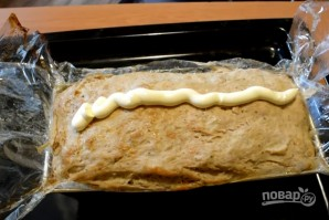 Мясной хлебец с яйцами - фото шаг 6