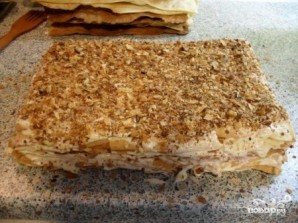 """Торт """"Наполеон"""" на скорую руку - фото шаг 10"""