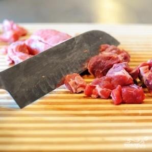 Жареная говядина традиционная - фото шаг 1