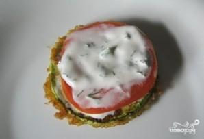Кабачки в кляре с помидорами - фото шаг 8