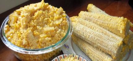 Молодая кукуруза на зиму - фото шаг 6