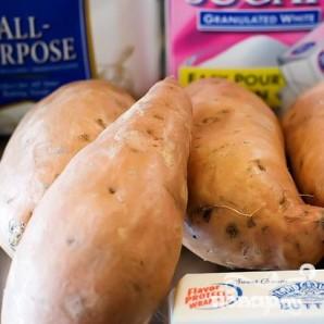 Сладкий картофель - фото шаг 1