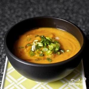 Морковный суп с мисо и кунжутом - фото шаг 3