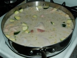 Рис с курицей в соусе в духовке - фото шаг 6