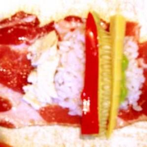 Мясные суши - фото шаг 3