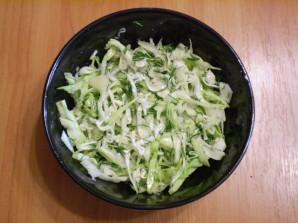 Капустный салат для похудения - фото шаг 4