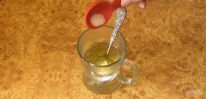 Постное тесто для хвороста и лаваша - фото шаг 1
