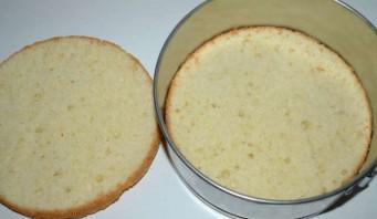 Торт чернично-муссовый - фото шаг 6