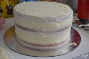 """Торт """"Омбре"""" - фото шаг 2"""