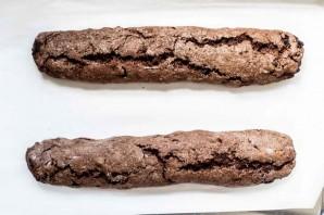 Шоколадные бискотти с клюквой и фисташками - фото шаг 5