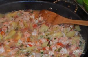 Салат с лангустинами - фото шаг 4