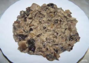 Слоеный салат со свининой - фото шаг 2