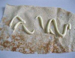 Лаваш с сыром, яйцом и зеленью - фото шаг 4