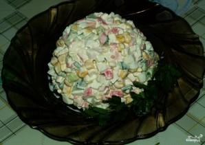 Салат из кукурузы и крабовых палочек - фото шаг 4