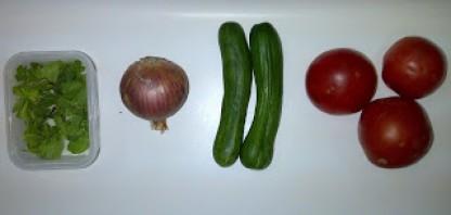 Салат фермера - фото шаг 1