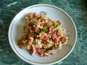 Омлет с рисом - фото шаг 4