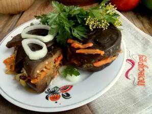 Квашеные баклажаны с морковкой - фото шаг 9