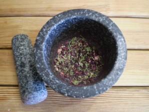 Чай из каркаде и мяты - фото шаг 3