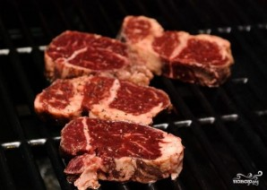 Мясо на углях - фото шаг 5